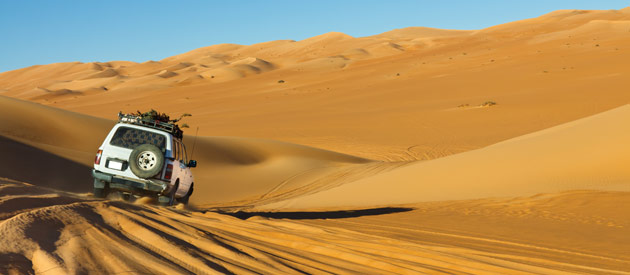 Explore Namibia on a luxury self-drive safari