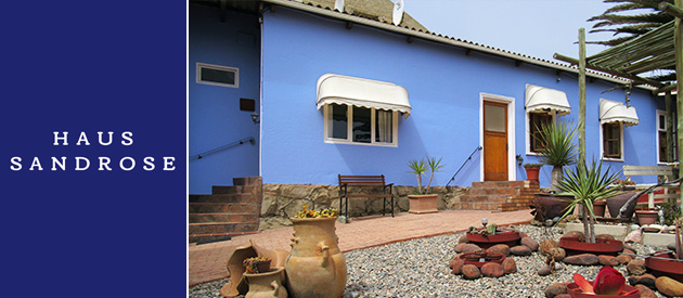 HAUS SANDROSE SELF CATERING UNITS, LUDERITZ