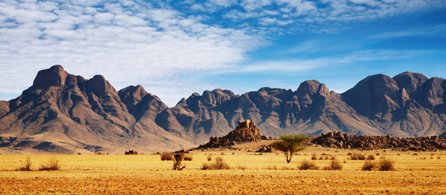 Usakos is a town situated in the Erongo Province of Namibia.
